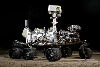 Vehicle System Test Bed (VSTB) rover