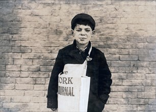 Bologna'. Tony Casale, 11 years old been selling papers for 4 years.