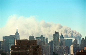The September 11 (or 9/11) Islamic terrorist group al-Qaeda attacks on New York