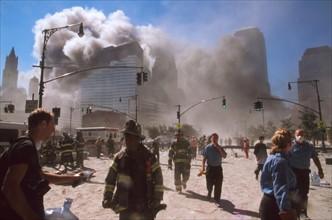 The September 11 (or 9/11) Islamic terrorist group al-Qaeda attacks on New York City
