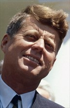 Photograph of President John F Kennedy