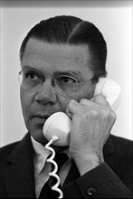 Robert Strange McNamara (1916 – 2009) US Secretary of Defense