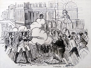 attempt to prevent the removal of Francisco de Paula. Marshal Muratfrom Madrid 1808