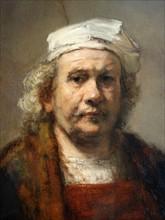 Portrait of Rembrandt Harmenszoon van Rijn