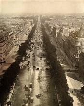 The Champs-Élysées in Paris