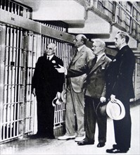 Jail cell of Al Capone