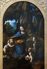 The Virgin on the Rocks' by Leonardo da Vinci