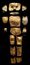 Gold foil pieces