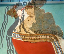 Wall-painting fragment
