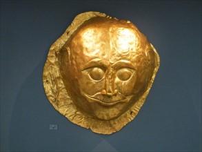 Gold death-masks, Mycenae