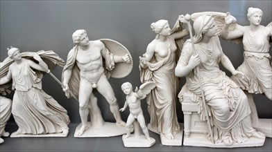 Reconstruction of the east pediment of the Parthenon
