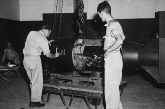 Little Boy the atomic bomb dropped on the Japanese city of Hiroshima