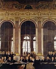 Signature du Traité de Versailles, 28 juin 1919