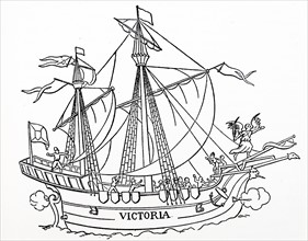 The first ship that sailed around the world.