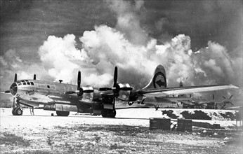 Enola Gay Boeing became the first aircraft to drop an atomic bomb.