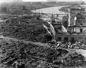 World War II, after the explosion of the atom bomb in August 1945Hiroshima