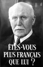 Affiche de propagande pour le Maréchal Pétain