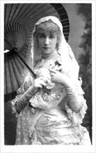 Portrait de Sarah Bernhardt (1844-1923)
