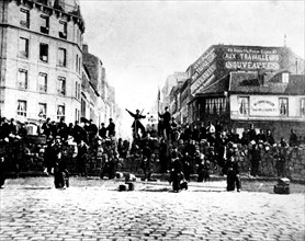 Paris. The blood-soaked week : May 21-28, 1871