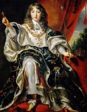 Egmont, Louis XIV enfant, en costume de Sacre