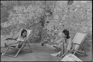 Jackie Kennedy et Lee Radziwill.