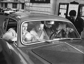 Alain Delon et Romy Schneider - 1962