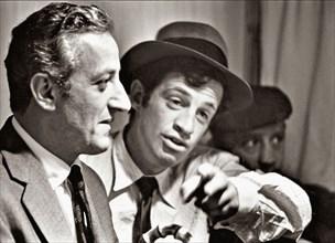 Benno Graziani et Jean-Paul Belmondo