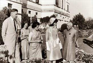 Jackie Kennedy. Mars 1962. Voyage officiel en Inde
