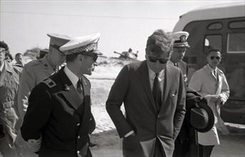 Le Shah d'Iran et Kennedy, Cap Canaveral