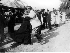 Fête populaire en Allemagne, 1909