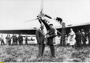 Marcel Doret et Joseph Le Brix, 1931