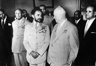 Hailé Sélassié Ier et Nikita Khrouchtchev, 1959