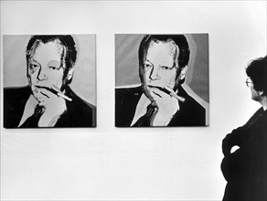 Andy Warhol, Willy Brandt