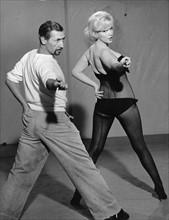 Marilyn Monroe et Maurice Béjart, 1960