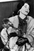 Maria Callas en 1956