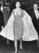 Maria Callas à Londres en septembre 1959