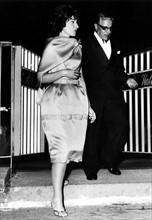 Maria Callas et Aristote Onassis à Monaco en mai 1962