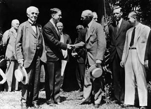 Edison, Huston, Ford et Lindbergh, 1929