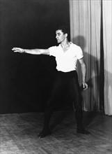 Maurice Bejart - bei Proben 1958