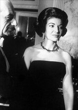 Maria Callas lors du Festival de télévision de Monte Carlo en 1962