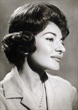 Maria Callas en 1961
