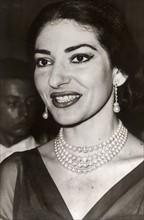 Maria Callas en 1958