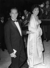 Gina Lollobrigida et Milko Skofic en 1957