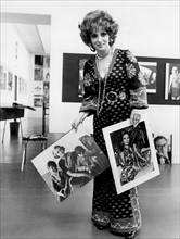 Gina Lollobrigida en juin 1975
