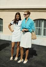 Grace Kelly et sa fille Caroline