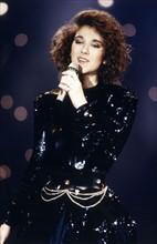 Céline Dion lors du concours de l'Eurovision en 1988