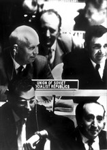 La chaussure: Assemblée générale de l'ONU, Khrouchtchev et Gromyko