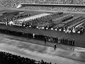 Ouverture des Jeux Olympiques de Rome le 25 août 1960