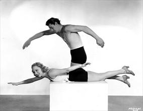 Johnny Weissmuller et Leila Hyams, 1932