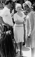 Arthur Miller, son épouse Marilyn Monroe et Jack Lemmon